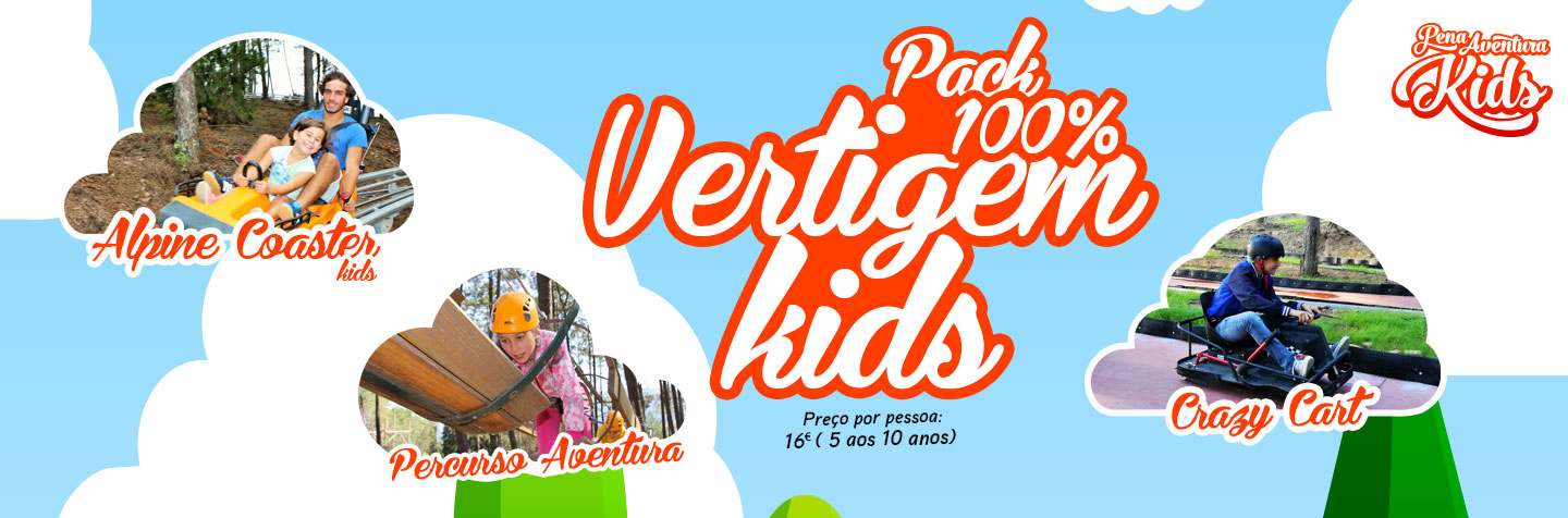 Pack 100% Vertigem kids