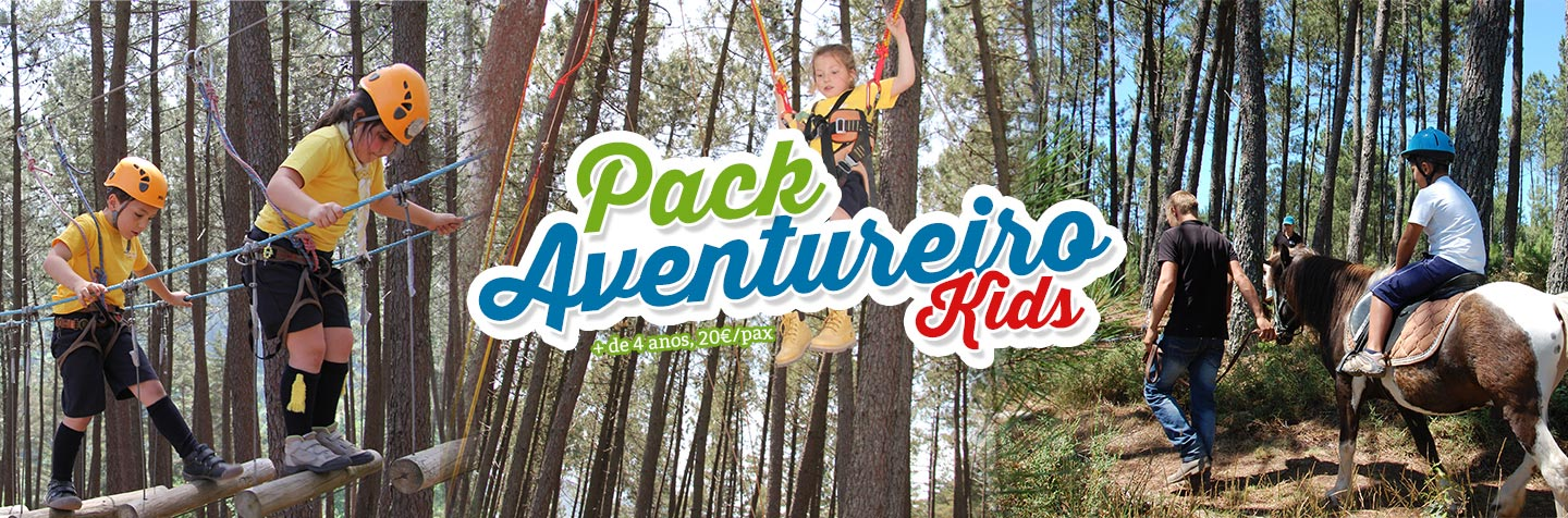 Pack Aventureiro kids